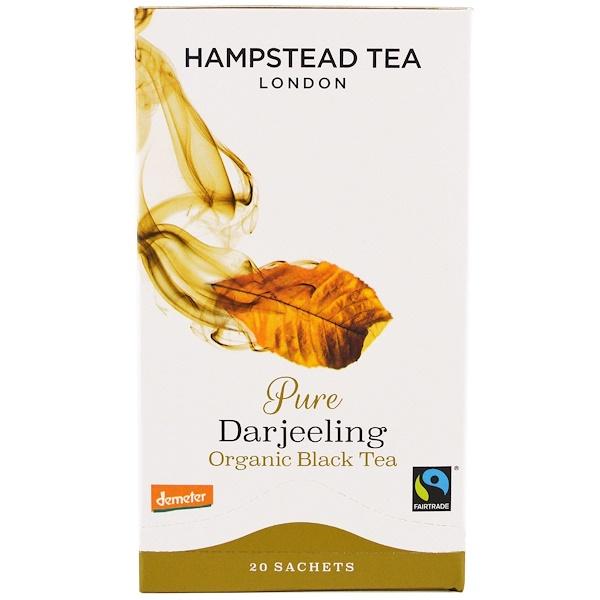 Hampstead Tea, Orgánico, Té Darjeeling, 20 Bolsitas, 1.41 oz (40 g)