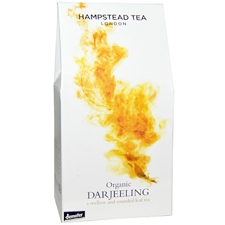 Hampstead Tea, Organic Darjeeling, 3.53 oz (100 g)