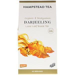 Хампстед Ти, Organic & Biodynamic, Loose Leaf Black Tea, Darjeeling, 3.53 oz (100 g) отзывы