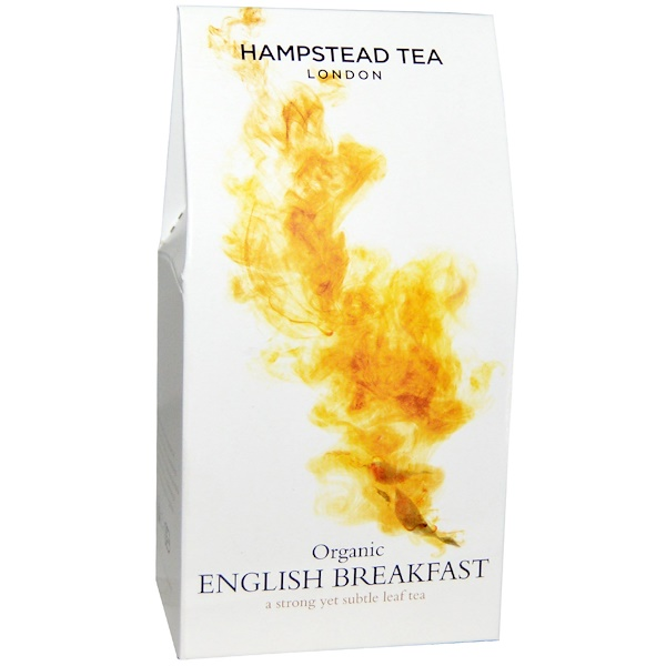 Hampstead Tea, Organic English Breakfast, 3、53 oz (100 g)