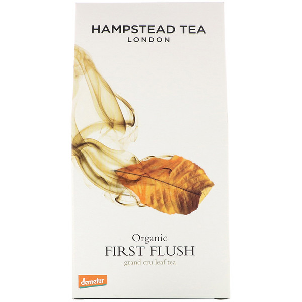 Hampstead Tea, Органический, листовой чай первого сбора, 100 г (3,53 жид. ун.) (Discontinued Item)