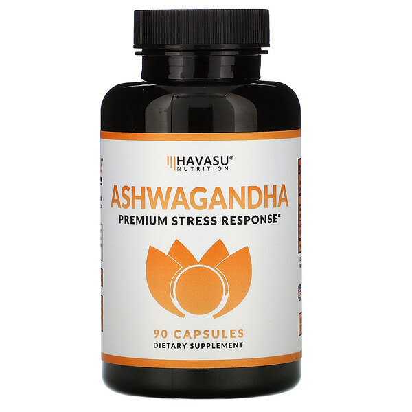 Ashwagandha, Premium Stress Response,  90 Capsules