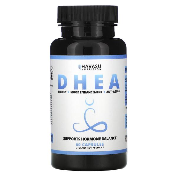 DHEA, 60 Capsules