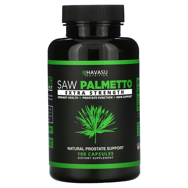 Saw Palmetto, Extra Strength, 100 Capsules