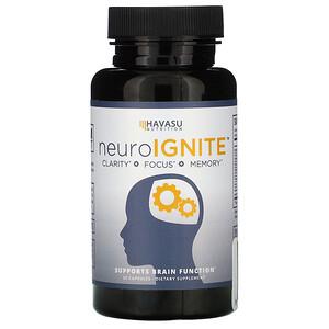 Havasu Nutrition, NeuroIGNITE, 30 Capsules отзывы покупателей