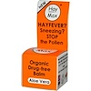 Hay Max, Organic Drug-Free Balm, Aloe Vera, 5 ml (Discontinued Item)