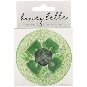 Honey Belle, Natural Loofah Soap, Eucalyptus Peppermint, 5 oz (140 g) отзывы