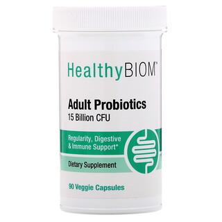 HealthyBiom, Пробиотики для взрослых, 15млрд КОЕ, 90растительных капсул                                                      HealthyBiom, Lactobacillus Reuteri LRC с витаминомD, 5млрд КОЕ, 90растительных капсул                                                      HealthyBiom, Пробиотики с клюквой для женщин, 10млрд КОЕ, 90растительных капсул                                                      HealthyBiom, Высокоэффективные пробиотики, 50млрд КОЕ, 30растительных капсул                                                      HealthyBiom, Пробиотики для поддержания женского здоровья, 25млрд КОЕ, 30растительных капсул                                                      HealthyBiom, Пробиотики для поддержания женского здоровья, 25млрд КОЕ, 90растительных капсул                                                      HealthyBiom, Пробиотики для людей старше 50 лет, 25млрд КОЕ, 90растительных капсул                                                      HealthyBiom, Пробиотики для взрослых, 15млрд КОЕ, 30растительных капсул                                                      HealthyBiom, Высокоэффективные пробиотики, 50млрд КОЕ, 90растительных капсул                                                      HealthyBiom, Women's Cranberry Probiotics, 10 Billion CFU, 30 Veggie Capsules                                                      HealthyBiom, Lactobacillus Reuteri LRC с витаминомD, 5млрд КОЕ, 60растительных капсул                                                      HealthyBiom, Пробиотики для ежедневной поддержки, 5млрд КОЕ, 90растительных капсул                                                      HealthyBiom, Adult 50+ Probiotics, 25 Billion CFU, 30 Veggie Capsules                                                      HealthyBiom, Daily Maintenance Probiotics, 5млрд КОЕ, 30растительных капсул