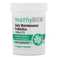 Daily Maintenance Probiotics, 5 Billion CFUs, 30 Veggie Capsules - фото