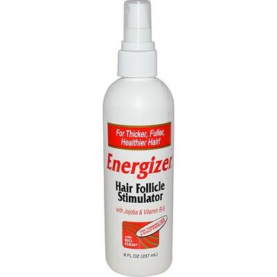 Hobe Labs Energizer, стимулятор роста волос, 237 мл