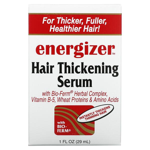 مصل Energizer لتكثيف الشعر، أونصة سائلة، (29 مل)