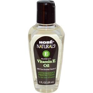 Хоуб Лэбс, Naturals, Vitamin E Oil, 50,000 IU, 2 fl oz (59 ml) отзывы