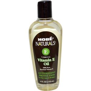 Хоуб Лэбс, Naturals Vitamin E Oil, 7,500 IU, 4 fl oz (118 ml) отзывы