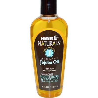 Hobe Labs Naturals, органическое масло жожоба, 118 мл (4 жидких унции)