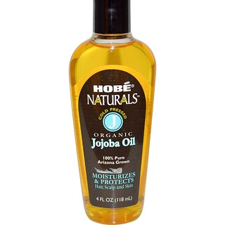 Hobe Labs, Naturals, Organic Jojoba Oil, 4 fl oz (118 ml)
