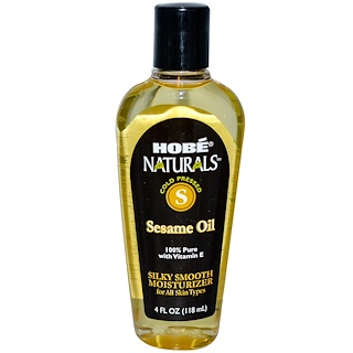 Hobe Labs, Naturals, Sesame Oil, 4 fl oz (118 ml)