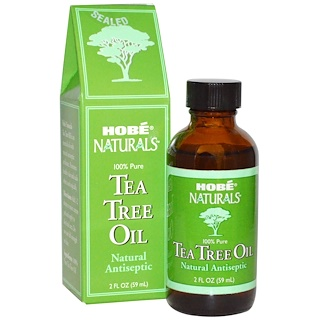 Hobe Labs, Tea Tree Oil, 2 fl oz (59 ml)