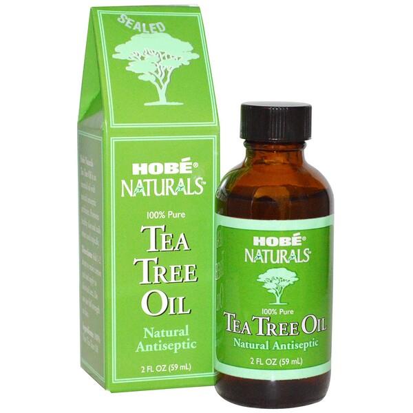 Hobe Labs, Масло чайного дерева, 2 жидких унции (59 мл) (Discontinued Item)