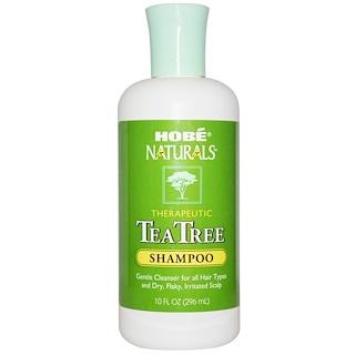 Hobe Labs, Shampoo, Tea Tree, 10 fl oz (296 ml)