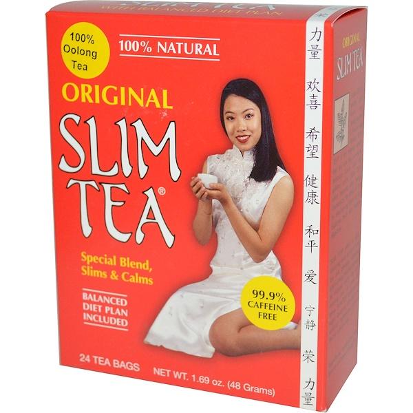 Hobe Labs, Original Slim Tea, 24 Tea Bags, 1.69 oz (48 g) (Discontinued Item)