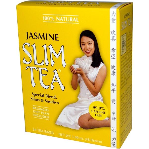 Hobe Labs, Jasmine Slim Tea, 24 Tea Bags, 1.69 oz (48 g) (Discontinued Item)