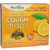 Herbion, ナチュラル ケア コフドロップ(咳止め飴)、ハニー レモン、18個