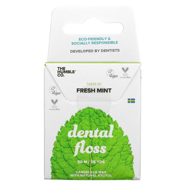 Dental Floss, Fresh Mint, 55 Yds (50 m)