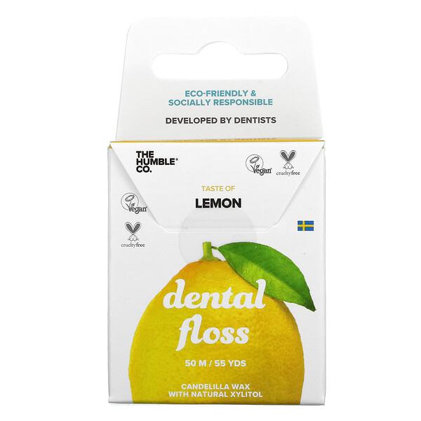 Dental Floss, Lemon, 55 Yds (50 m)