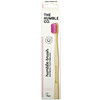The Humble Co., Humble Bamboo Toothbrush, Adult Sensitive, Pink, 1 Toothbrush