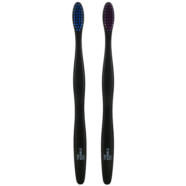 Humble Bamboo Toothbrush, Sensitive, 2 Pack