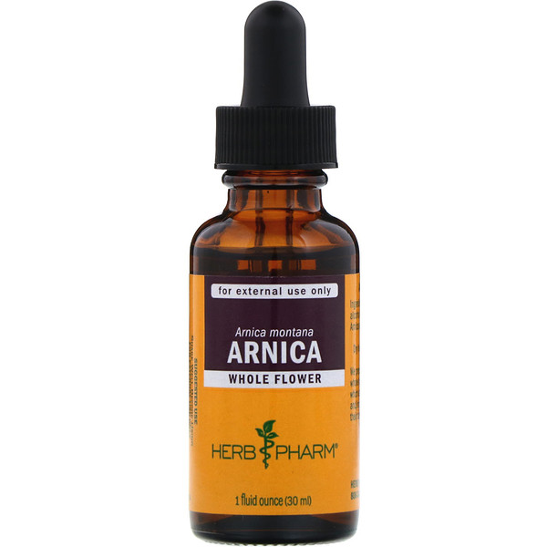 Herb Pharm, Arnica, Whole Flower, 1 fl oz (30 ml) (Discontinued Item)