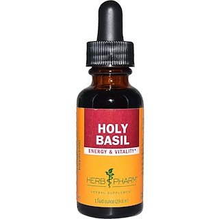 Herb Pharm, Basilic sacré, 1 fl oz (29,6 ml)