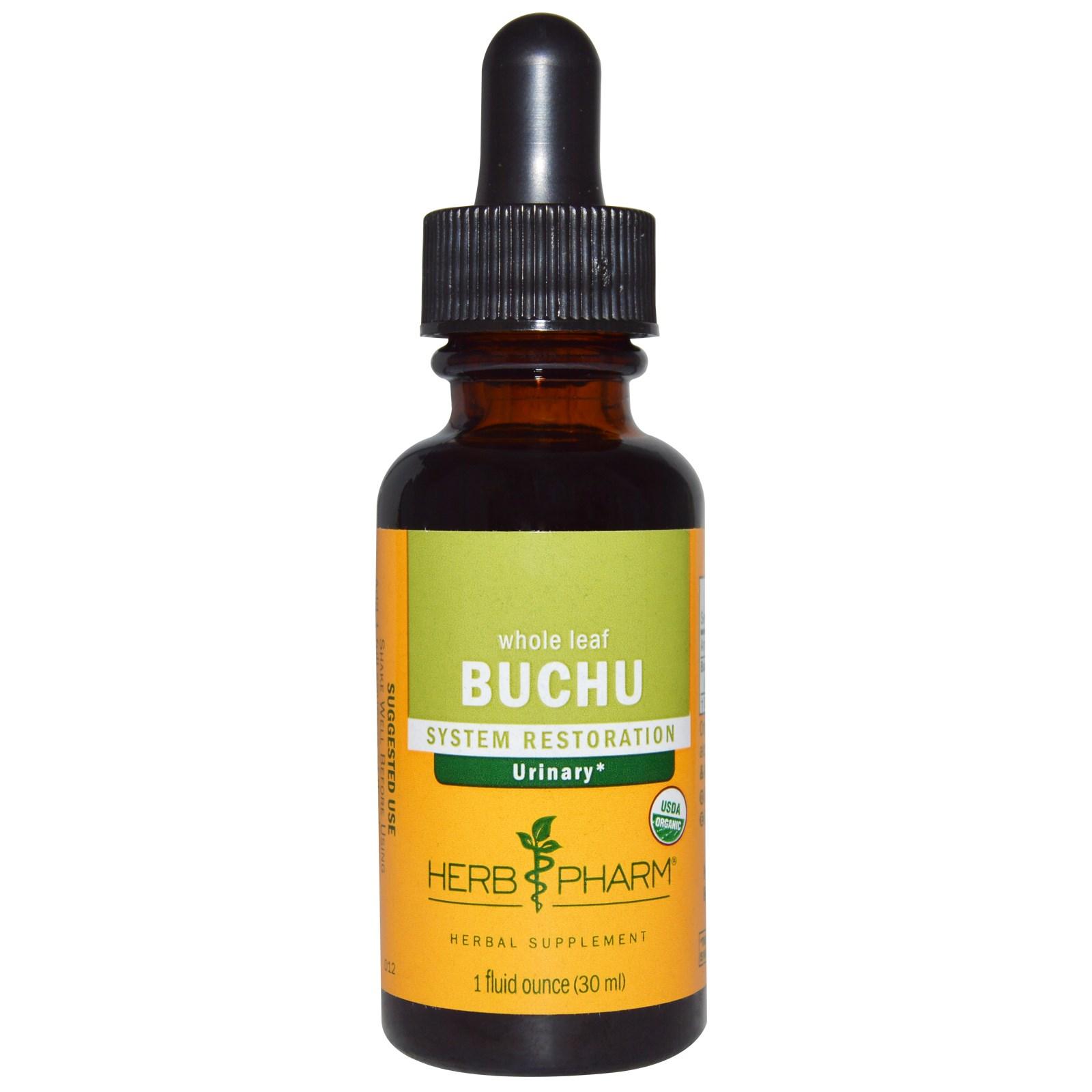 Herb Pharm, Бучу, цельный лист, 1 жидкая унция (30 мл)