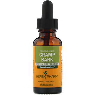 Herb Pharm, Cramp Bark, 1 fl oz (30 ml)