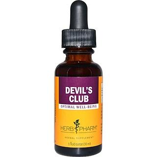 Herb Pharm, Devil's Club, 1 fl oz (30 ml)