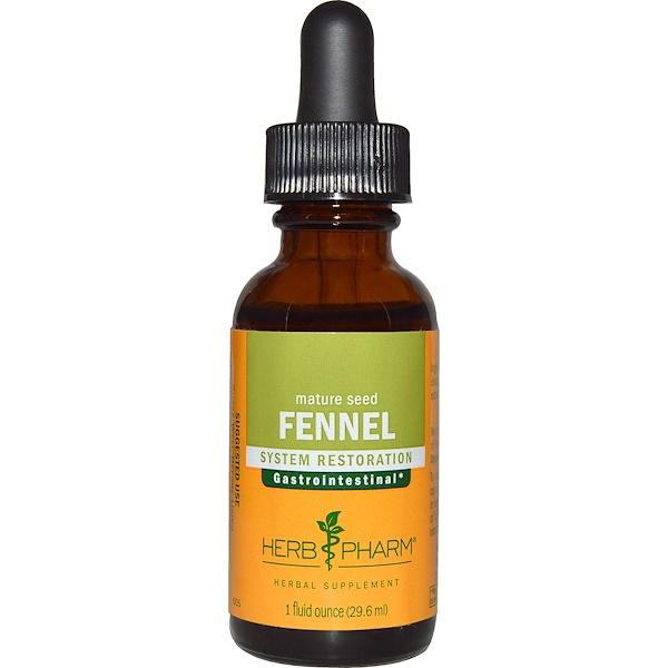 Herb Pharm, Fennel, Mature Seed, 1 fl oz (29.6 ml)