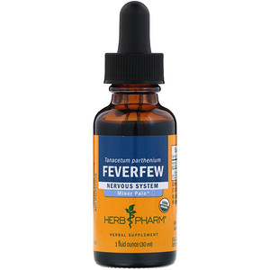 Херб Фарм, Feverfew, 1 fl oz (30 ml) отзывы