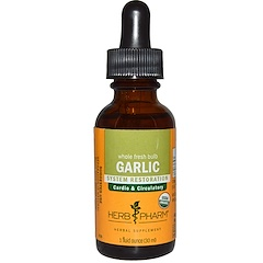 Herb Pharm, Garlic, Whole Fresh Bulb, 1 fl oz (30 ml)