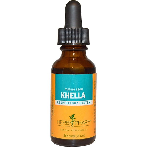 Herb Pharm, Khella, Mature Seed, 1 fl oz (29.6 ml)