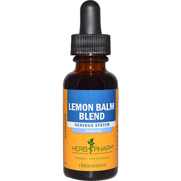 Herb Pharm, Lemon Balm Blend, 1 fl oz (29.6 ml)