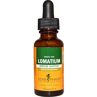 Herb Pharm, Lomatium, Whole Root, 1 fl oz (30 ml)