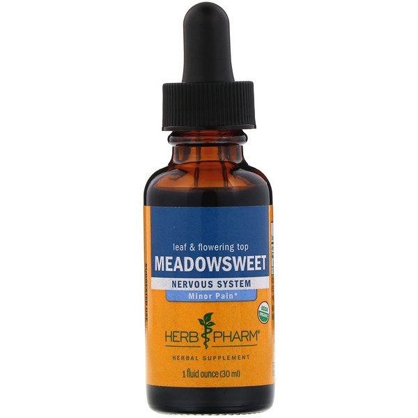 Herb Pharm, Meadowsweet, 1 fl oz (30 ml)