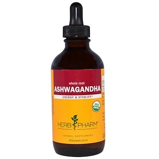 Herb Pharm, Ashwagandha, 4 fl oz (120 ml)