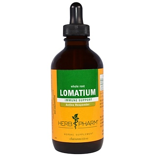 Herb Pharm, Lomatium, Whole Root, 4 fl oz (120 ml)
