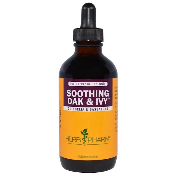 Herb Pharm, Soothing Oak & Ivy, 4 fl oz (120 ml) (Discontinued Item)
