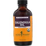 Отзывы о Herb Pharm, Органическое масло календулы, 4 жидких унции (120 мл)