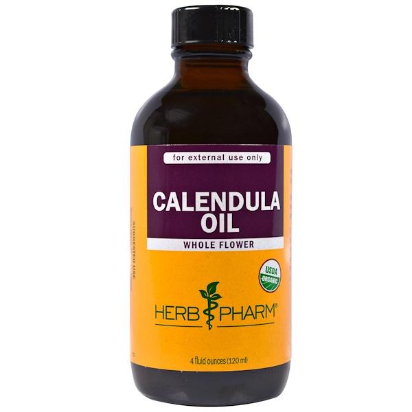 Herb Pharm, 有機香茅精油,4 fl oz (120 ml)