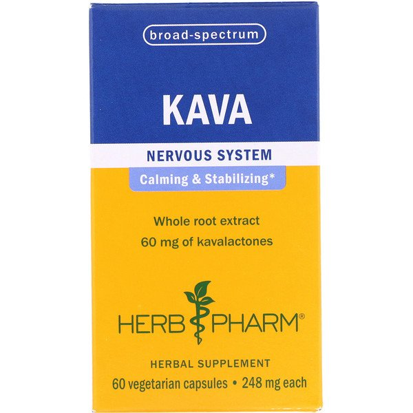 Herb Pharm, Kava, 248 mg, 60 Vegetarian Capsules (Discontinued Item)