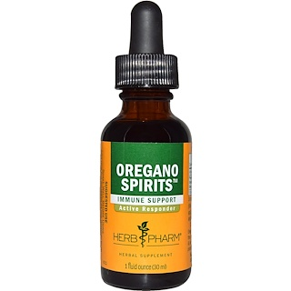 Herb Pharm, Oregano Spirits, 1 fl oz (29.6 ml), 1 fl oz (30 ml)