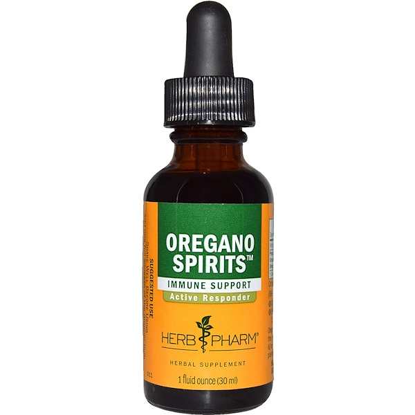 Herb Pharm, Oregano Spirits, 1 fl oz (29.6 ml), 1 fl oz (30 ml)